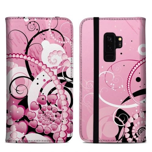 Her Abstraction Samsung Galaxy S9 Plus Folio Case