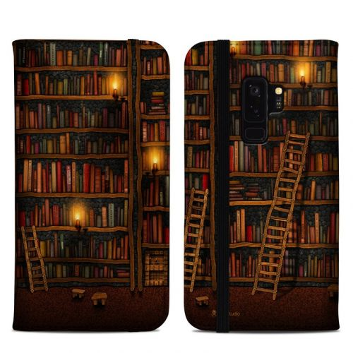 Library Samsung Galaxy S9 Plus Folio Case