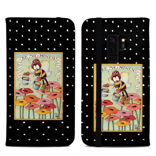 Be My Honey Samsung Galaxy S9 Plus Folio Case