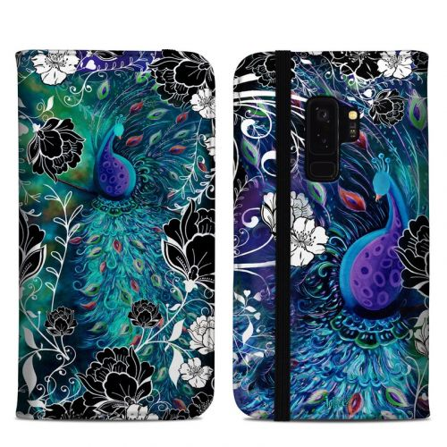 Peacock Garden Samsung Galaxy S9 Plus Folio Case
