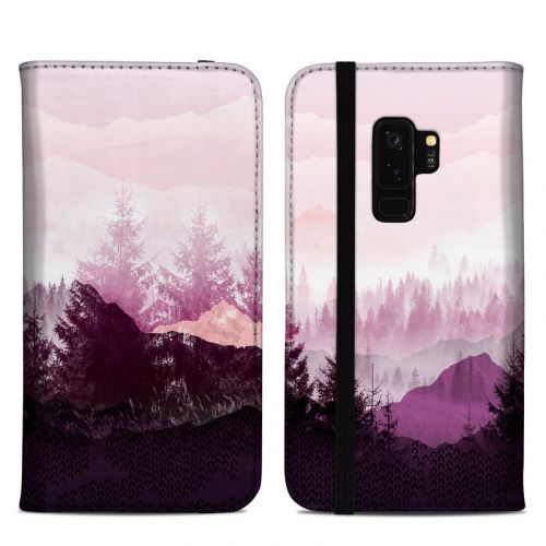 Purple Horizon Samsung Galaxy S9 Plus Folio Case