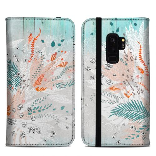 Tropical Fern Samsung Galaxy S9 Plus Folio Case