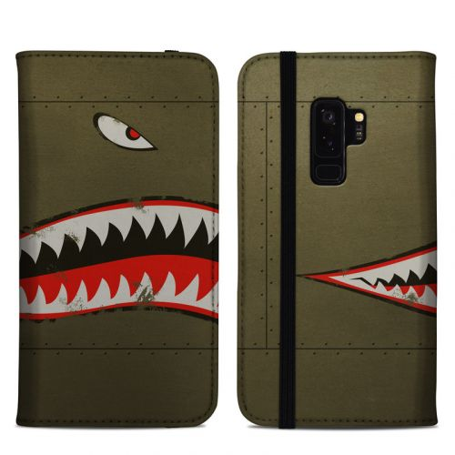 USAF Shark Samsung Galaxy S9 Plus Folio Case