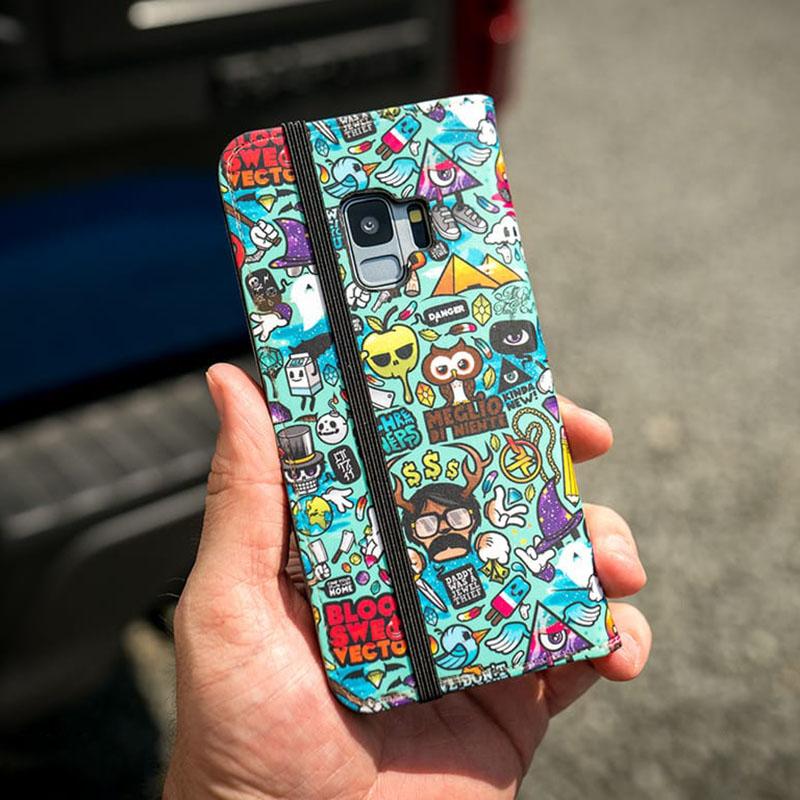 pretty nice 30db4 3d594 Wish Samsung Galaxy S9 Plus Folio Case