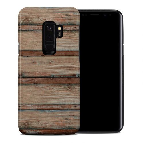Boardwalk Wood Samsung Galaxy S9 Plus Hybrid Case