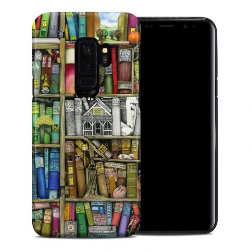 Bookshelf Samsung Galaxy S9 Plus Hybrid Case