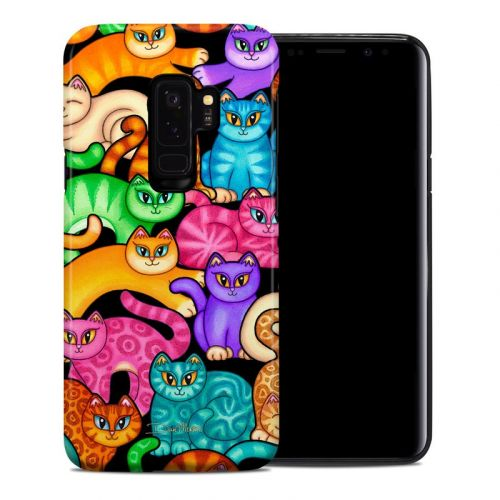 Colorful Kittens Samsung Galaxy S9 Plus Hybrid Case