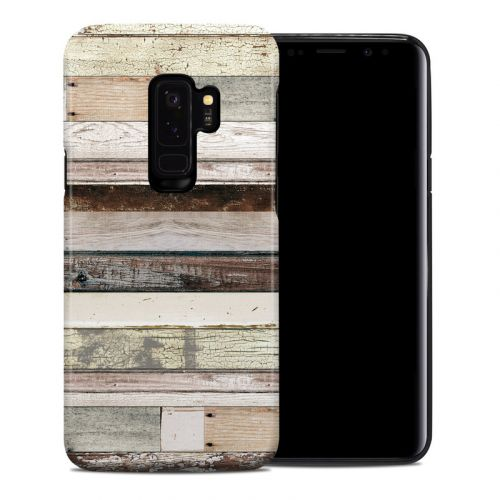 Eclectic Wood Samsung Galaxy S9 Plus Hybrid Case