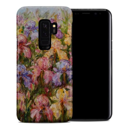 Field Of Irises Samsung Galaxy S9 Plus Hybrid Case