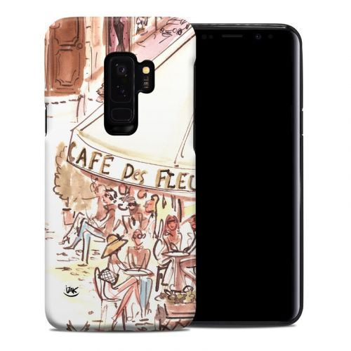 Paris Makes Me Happy Samsung Galaxy S9 Plus Hybrid Case