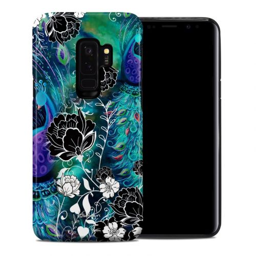 Peacock Garden Samsung Galaxy S9 Plus Hybrid Case