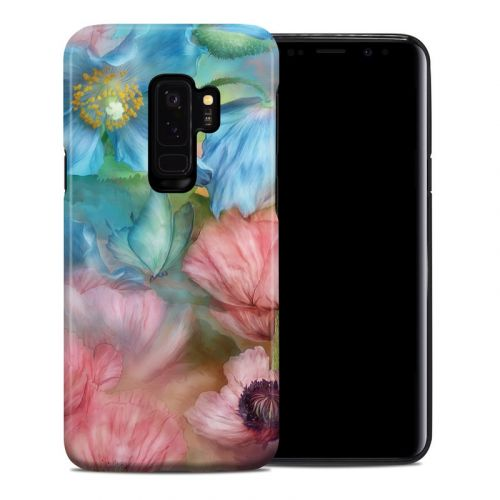 Poppy Garden Samsung Galaxy S9 Plus Hybrid Case