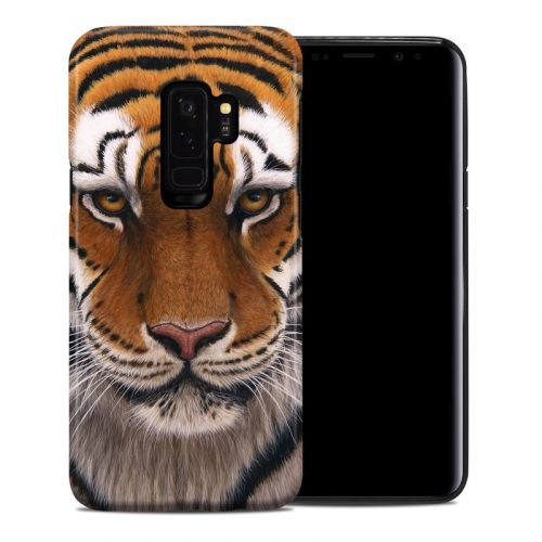Siberian Tiger Samsung Galaxy S9 Plus Hybrid Case