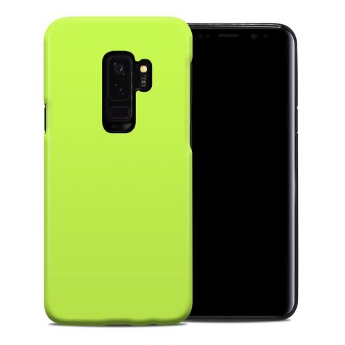 Solid State Lime Samsung Galaxy S9 Plus Hybrid Case