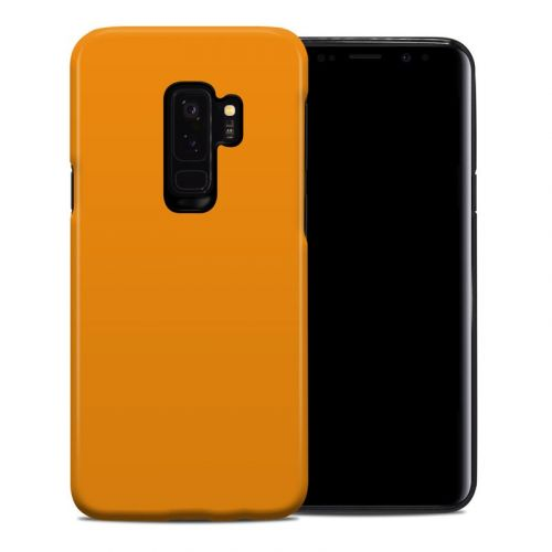 Solid State Orange Samsung Galaxy S9 Plus Hybrid Case