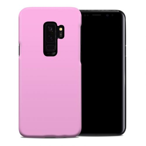 Solid State Pink Samsung Galaxy S9 Plus Hybrid Case