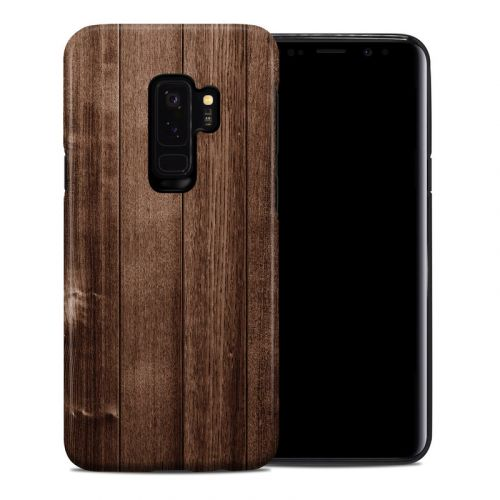 Stained Wood Samsung Galaxy S9 Plus Hybrid Case