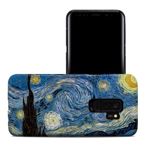 Starry Night Samsung Galaxy S9 Plus Hybrid Case