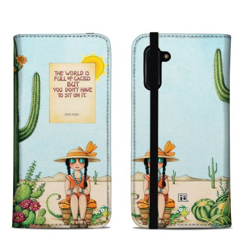 Cactus Samsung Galaxy Note 10 Folio Case