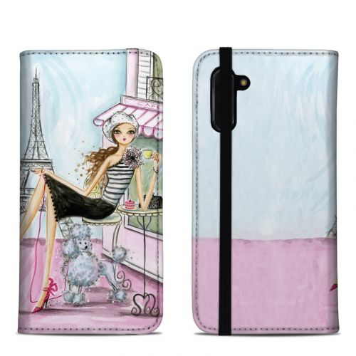 Cafe Paris Samsung Galaxy Note 10 Folio Case