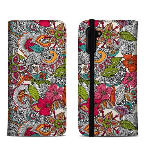 Doodles Color Samsung Galaxy Note 10 Folio Case
