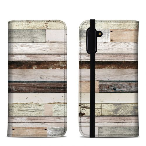 Eclectic Wood Samsung Galaxy Note 10 Folio Case