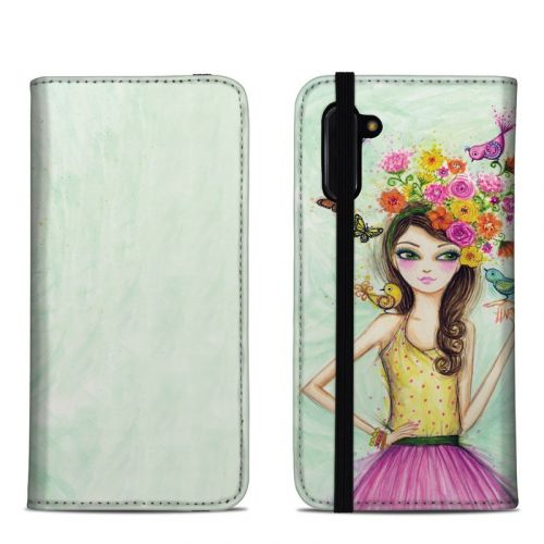 Spring is Here Samsung Galaxy Note 10 Folio Case