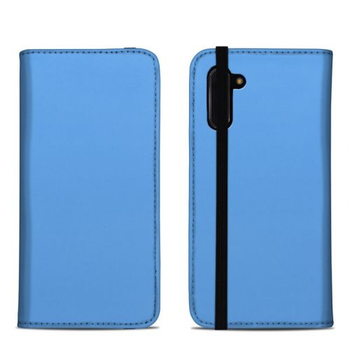 Solid State Blue Samsung Galaxy Note 10 Folio Case