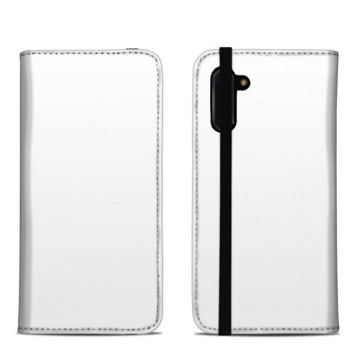 Solid State White Samsung Galaxy Note 10 Folio Case