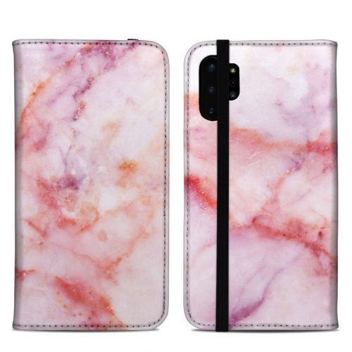 Blush Marble Samsung Galaxy Note 10 Plus Folio Case