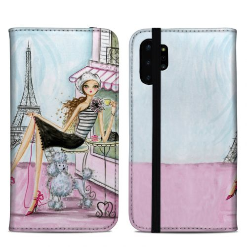 Cafe Paris Samsung Galaxy Note 10 Plus Folio Case