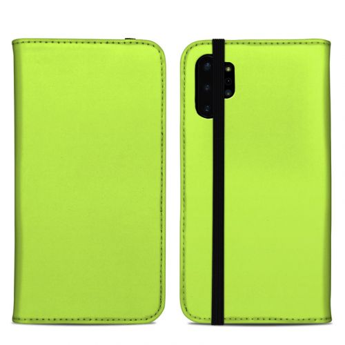 Solid State Lime Samsung Galaxy Note 10 Plus Folio Case