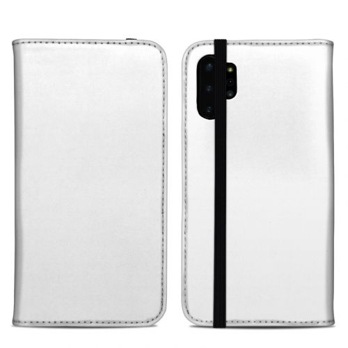Solid State White Samsung Galaxy Note 10 Plus Folio Case