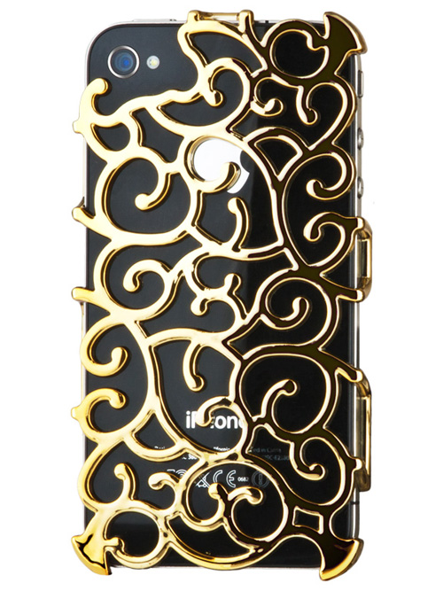 Gold Art Nouveau iPhone 4S Case