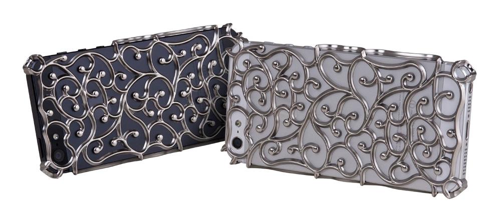 Silver Art Nouveau iPhone 5 Case