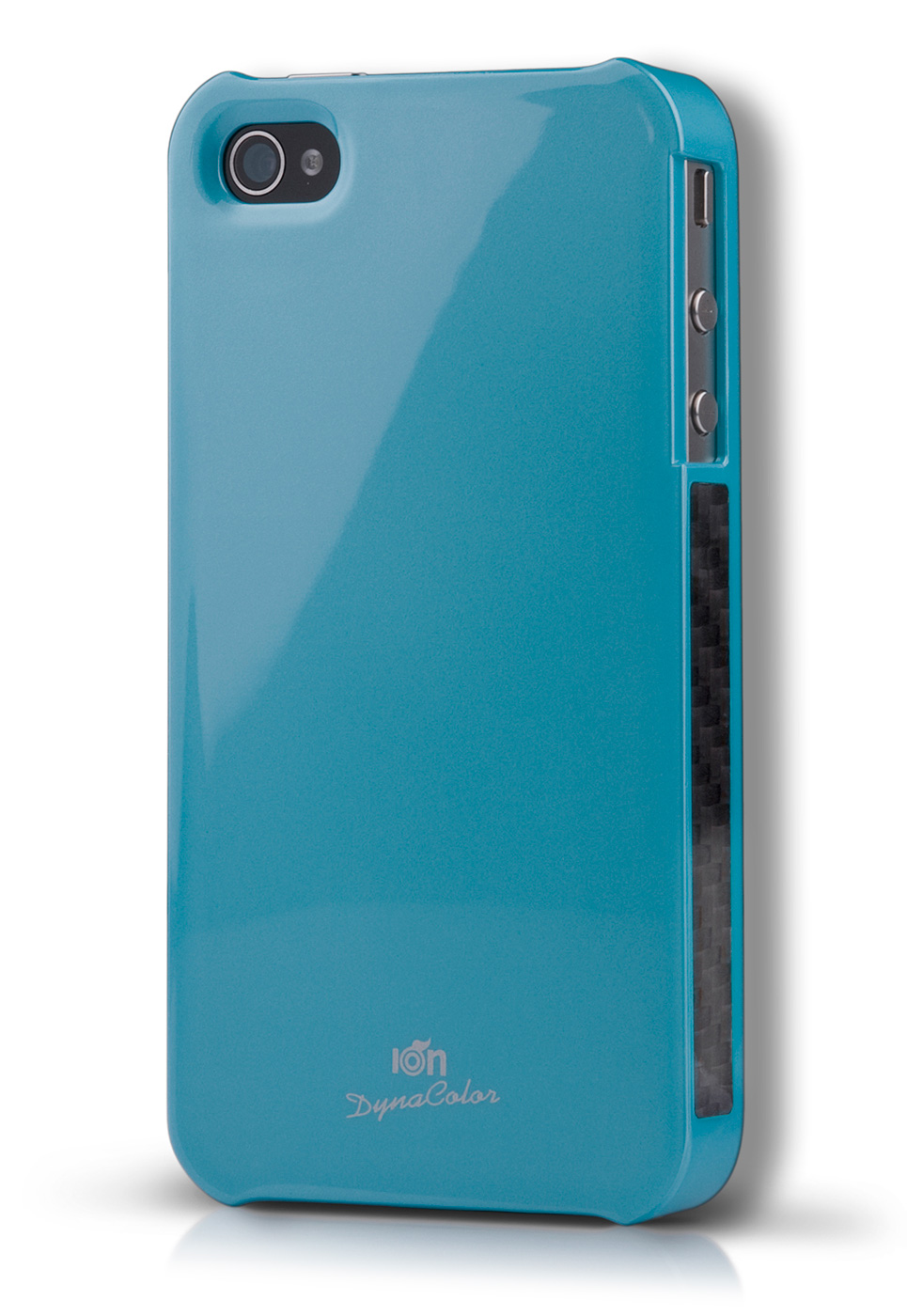 Blue DynaColor Lacquer iPhone 4S Case