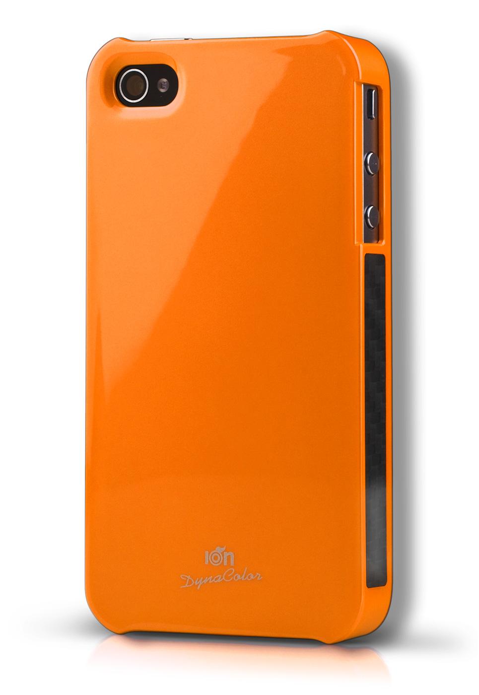 Orange DynaColor Lacquer iPhone 4S Case