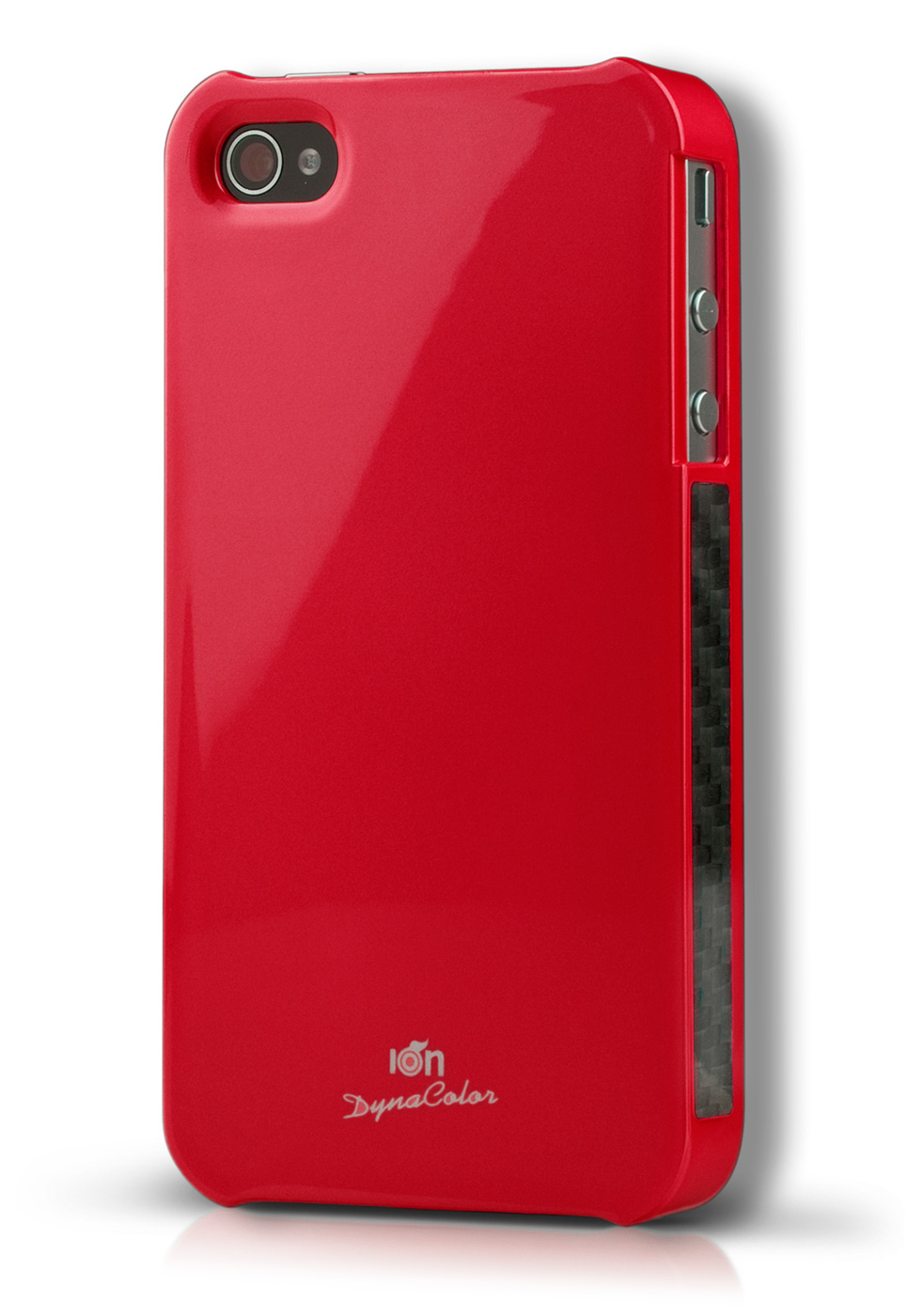 Red DynaColor Lacquer iPhone 4S Case
