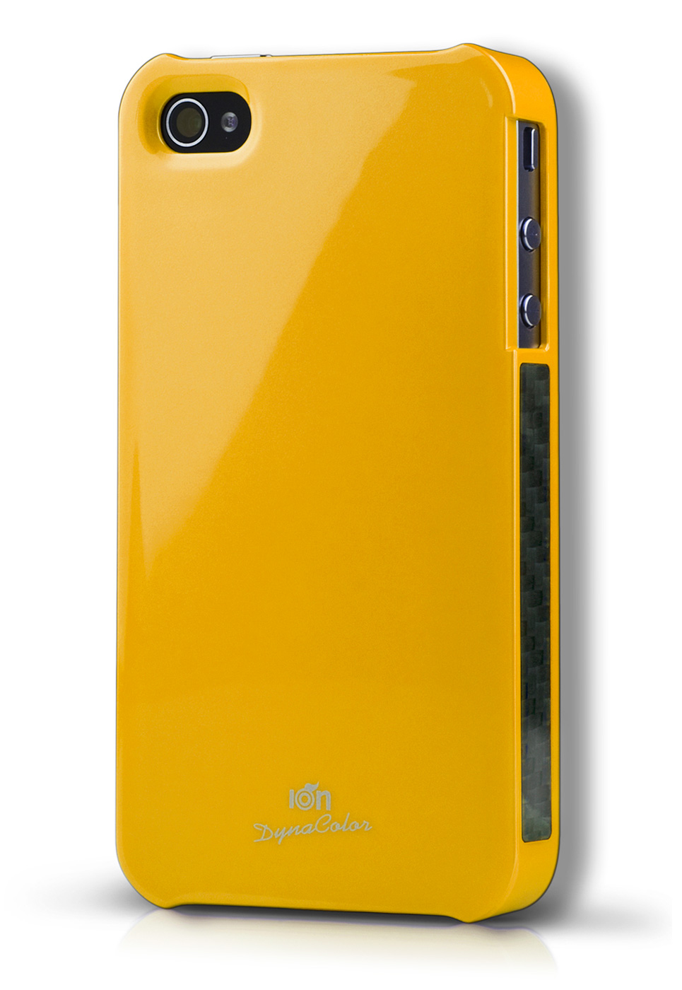 Yellow DynaColor Lacquer iPhone 4S Case