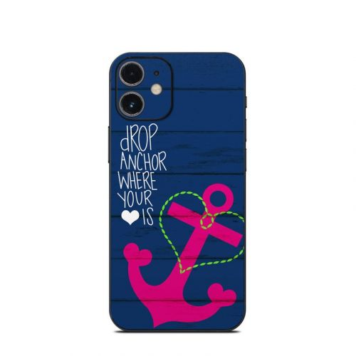 Drop Anchor iPhone 12 mini Skin