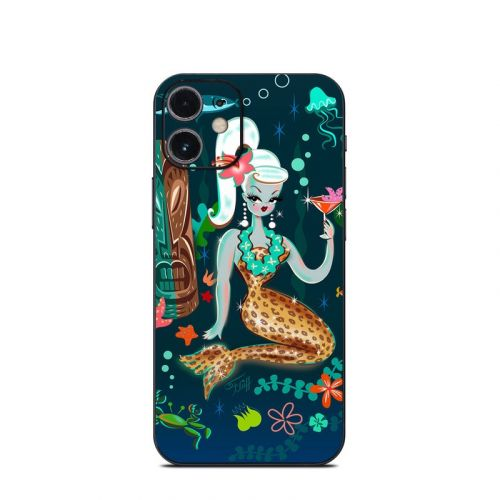 Martini Mermaid iPhone 12 mini Skin