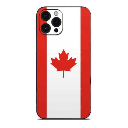 Canadian Flag iPhone 12 Pro Max Skin