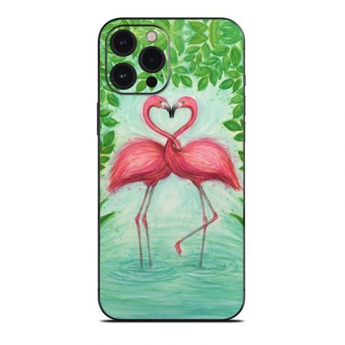 Flamingo Love iPhone 12 Pro Max Skin