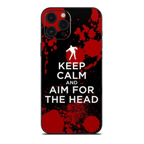 Zombie iPhone 12 Pro Max Skin