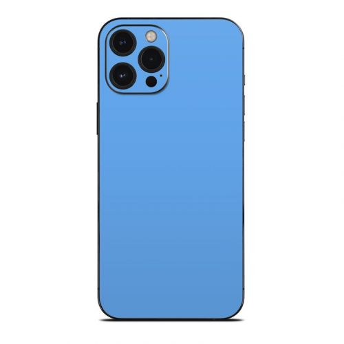 Solid State Blue iPhone 12 Pro Max Skin