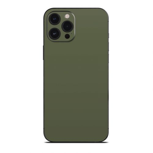 Solid State Olive Drab iPhone 12 Pro Max Skin