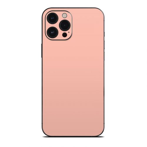 Solid State Peach iPhone 12 Pro Max Skin