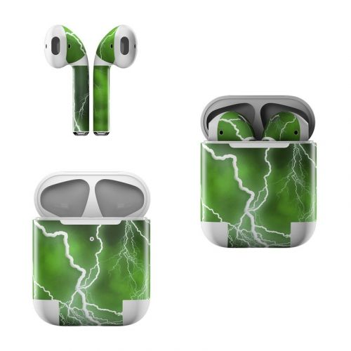 Apocalypse Green Apple AirPods Skin