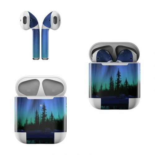 Aurora Apple AirPods Skin