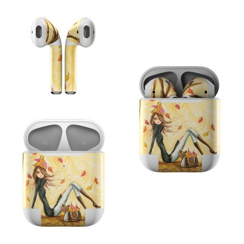 Autumn Leaves Apple AirPods Skin
